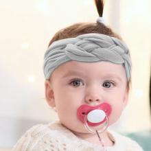 6-12 Pack Baby Girl Cute Headband Headwraps Elastic Bunny Ears Hair Band Holder3