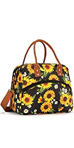Insulated Lunch Bag with Shoulder Strap