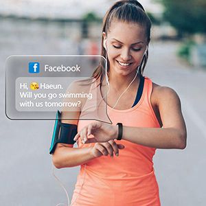 smartphone tracker with phone calls text instagram sms whatsapp wechat email notifications
