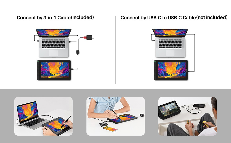 XP-PEN Artist, Huion Kamvas, Cintiq, Intuos, graphics tablet, art tablet, screen, display