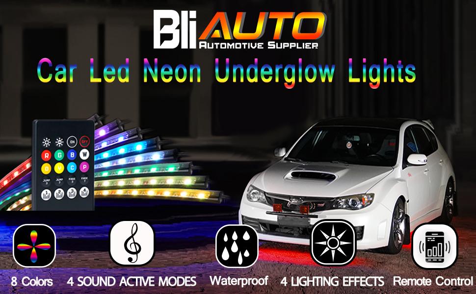 car underglow lights