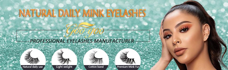 natural daily mink eyelashes