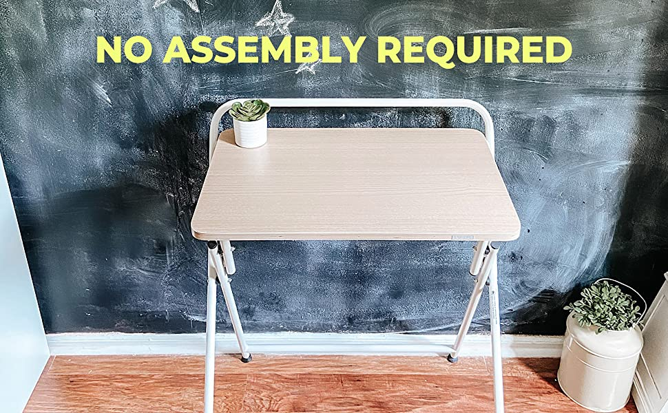 SOFSYS Folding Desk - No Assembly Required