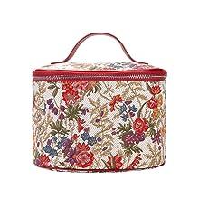 signare, tapestry, v&a, floral bag, bag detail, flower meadow