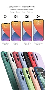iphone 12 case silicone full body covered