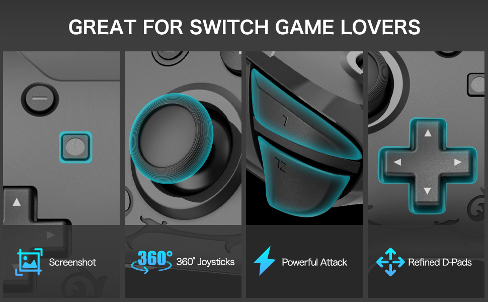Wireless Switch Pro Controllers