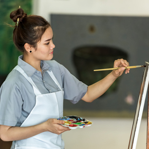FOR PAINTERS WITH DIFFERENT SKILLS