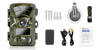Trail camera package