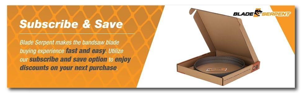 bandsaw blade saw band metal cutting portable inch cordless steel set bimetal cut deep horizontal