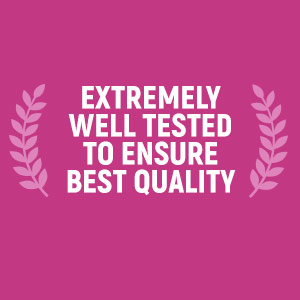 Each LuLu is extremely well tested to ensure highest quality