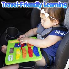 toddler plush Montessori buckle travel zipper therapy skills colors teaching preschool autism