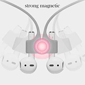 Airpods Pro 2 1 Magnetic anti-lost straps protective silicone sport strings leash tether