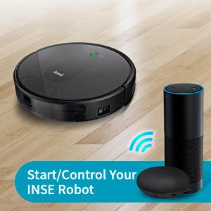 robot vacuum start