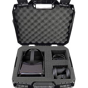 vr headset oculus quest bag case custom fit