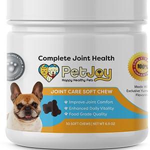 pet supplies joint care supplements petjoy terrier
