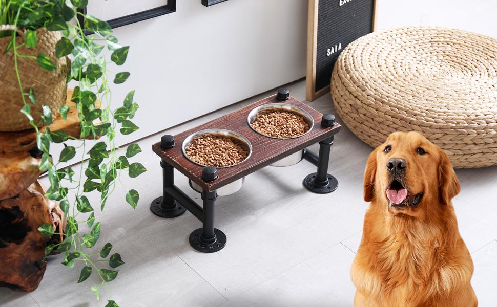 DOG RASIED BOWLS