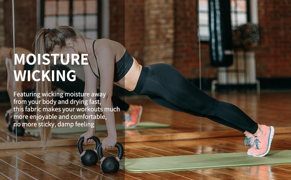 HOFI Womens High Waist Yoga Pants With Inner Pocket Tummy