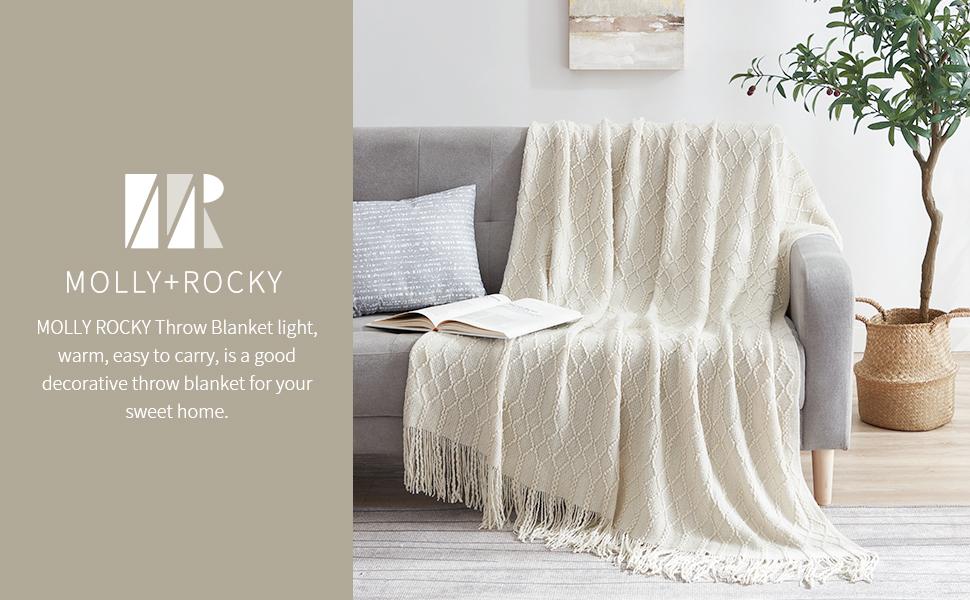 MOLLY+ROCKY throw blanket