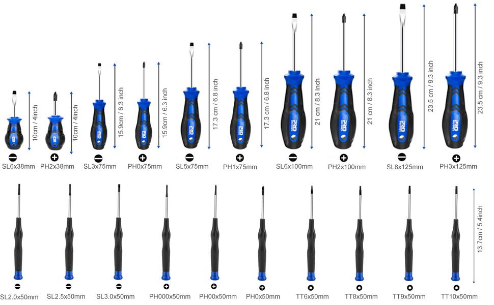 screwdriver set for electronics