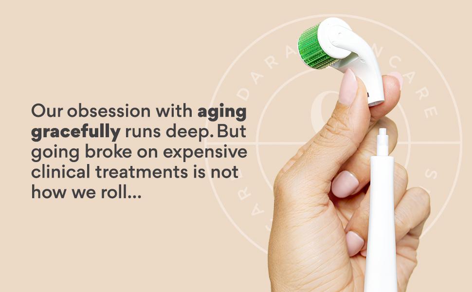 derma roller kit replacement head dermal roller microneedle micro needle derma face skin sensitive
