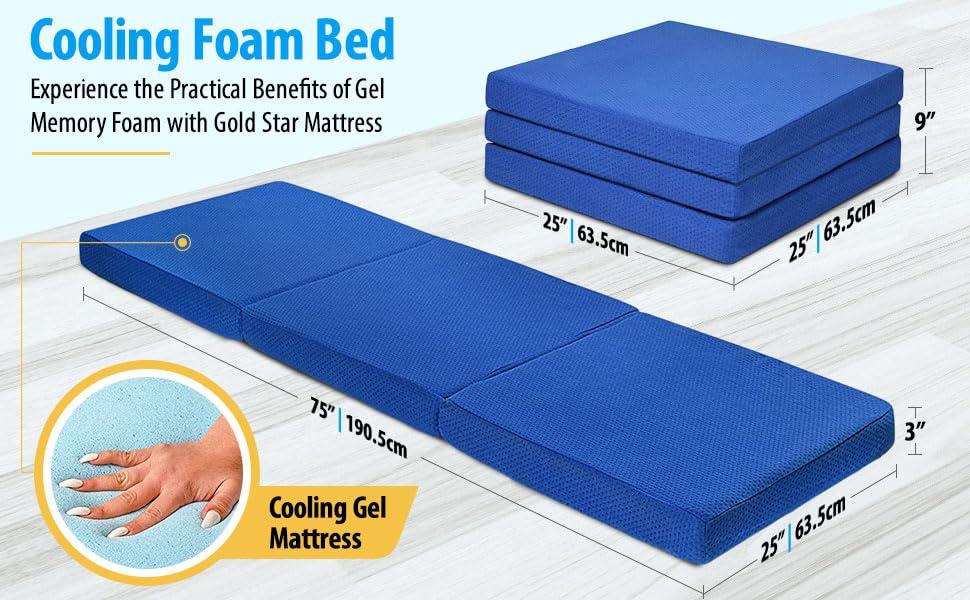 Cooling Foam Bed
