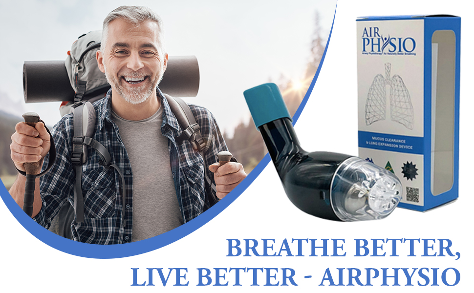 Breathe better with lung expansion device.