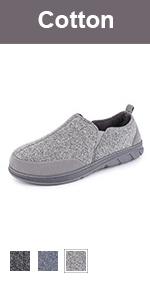 longbay men cotton jersey slipper