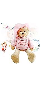 electronic teddy bear