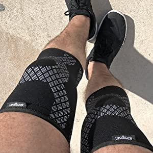 Knee Support for Running Squats Crossfit