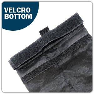 Velcro bottom