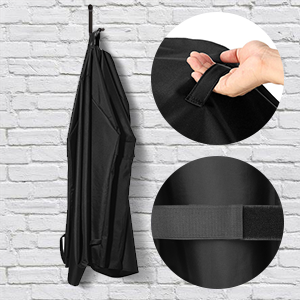 HEAVY DUTY BBQ GRILL COVER with handles