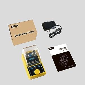 Vehicle Spark Plug amp; Ignition Tools, 110VCar Detector Ignition Spark Plug Tester for 12V Vehicles