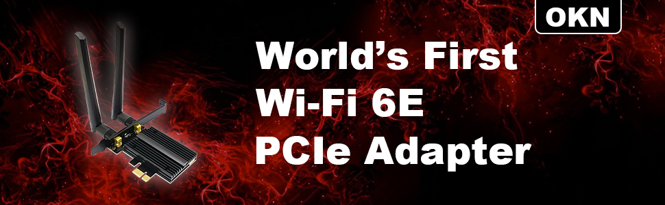 OKN Wi-Fi 6E Adapter