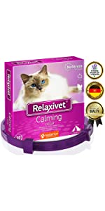 pheromone calming collar for cats anxiety relief stress relieve prevention natural