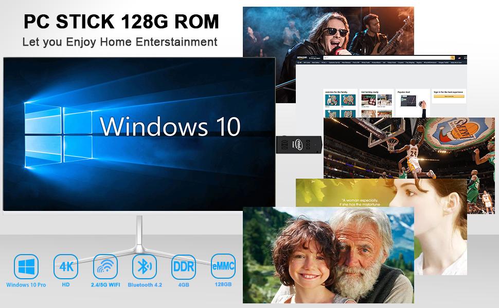 pc stick 4G RAM 128G ROM