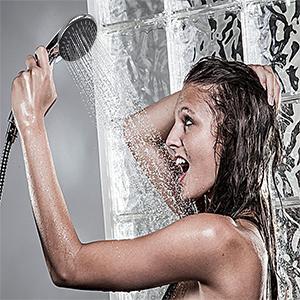 shower head rainfall high pressure