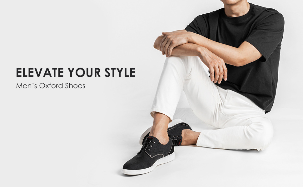 Finish off your look with the handsome and stylish Bruno Marc oxford sneaker