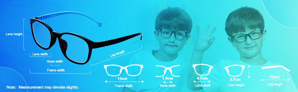blue light blocking glasses for boys and girls