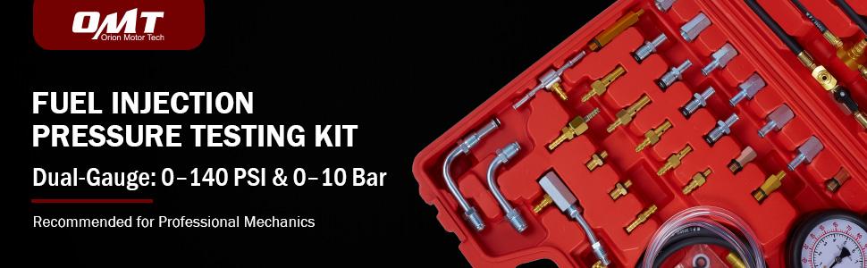 fuel injection pressure test kit