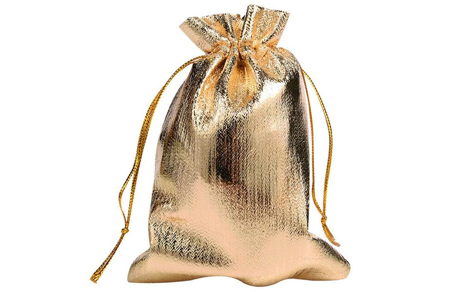 gold organza bags 88