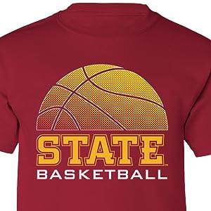 Iowa State Cyclones Basketball Boys T-Shirt