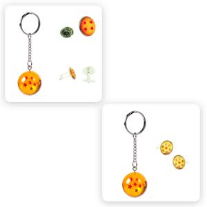 Bola de Dragón Accesorios: pin Dragon Ball, llavero Dragon Ball, gemelos Bola de Dragón: Amazon.es: Ropa y accesorios