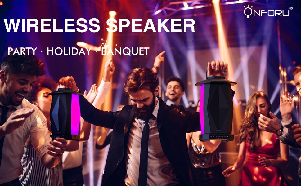 Onforu Bluetooth Speaker