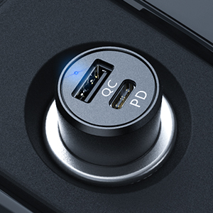 Syncwire Auto Ladegerät USB C Metall