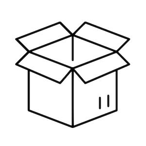 Lieferumfang Kiste Karton