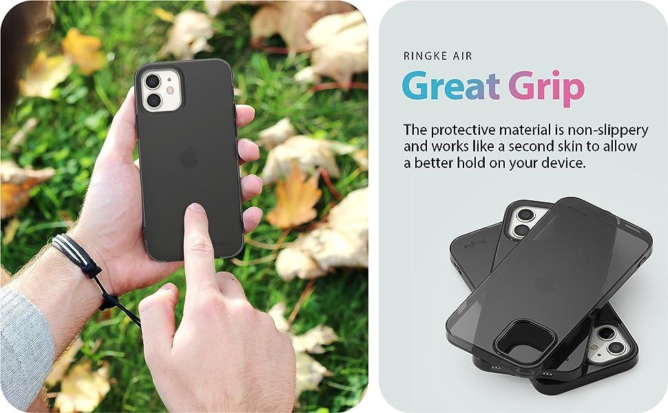 "Ringke Air Case Designed for iPhone 12 Pro, 12 Case with Lanyard Shoulder Strap 6.1"""