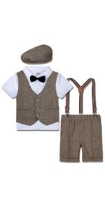 Toddler Boys Gentleman Suit