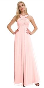 pearl pink dress