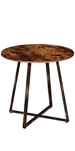 round coffee table dinning table