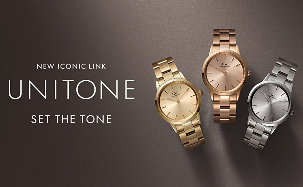 unitone, link, gold watch, significant, simply, new, dw, daniel wellington, silver, rose gold, rose